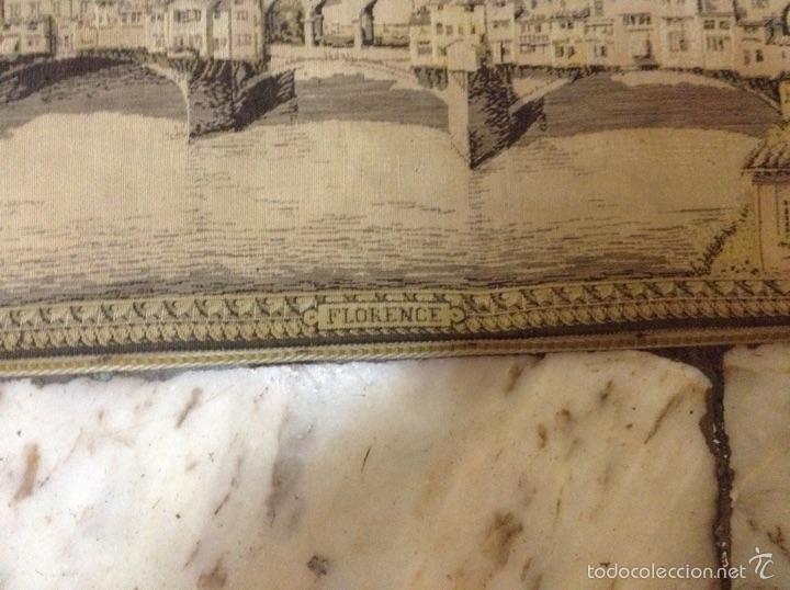 Antigüedades: Tapiz muy antiguo imagen Florencia - Foto 9 - 53799837
