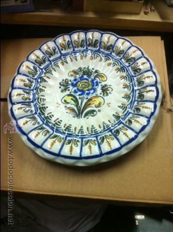 Antigüedades: platos decorativos - Foto 3 - 53804487