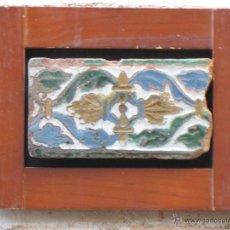 Antigüedades: AZULEJO ANTIGUO DE TOLEDO - ARISTA O CUENCA - MUDEJAR / RENACENTISTA - SIGLO XVI. TOLEDANO.. Lote 53814768