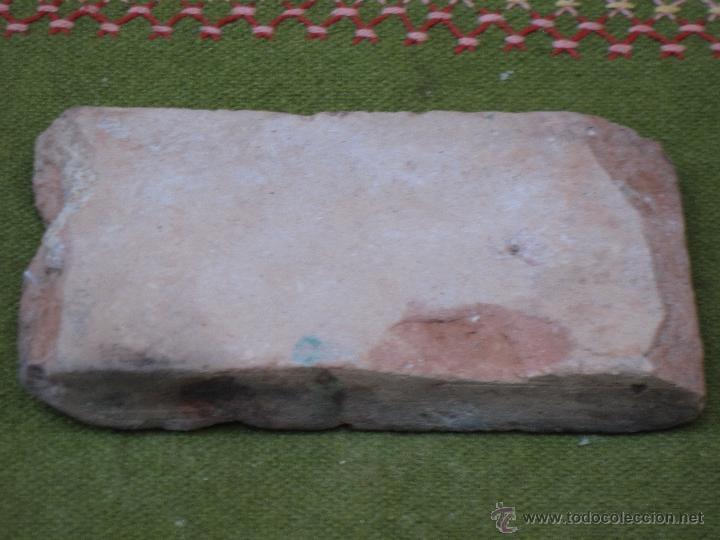 Antigüedades: AZULEJO ANTIGUO DE TOLEDO - SIGLO XVI - MUDEJAR / RENACENTISTA - ARISTA O CUENCA - - Foto 3 - 53814768
