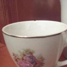 Antigüedades: JUEGO CAFÉ TANAGRA, SANTANDER. FRAGONARD. Lote 53818137
