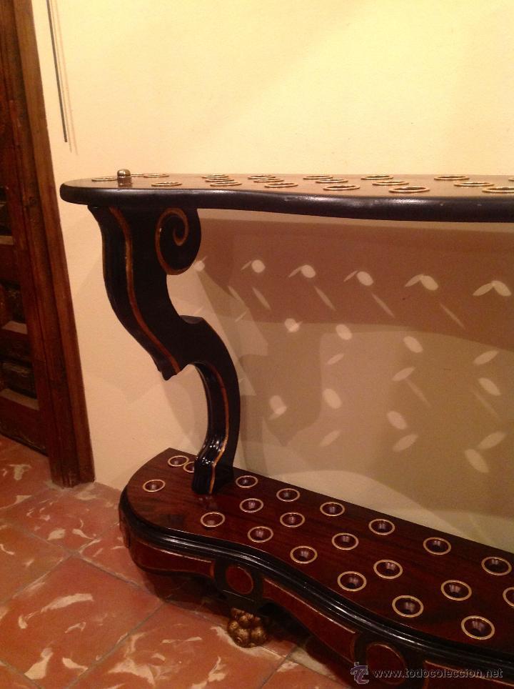 Antigüedades: Bastonera Original Pieza De Colección Impresionante Medidas 117x73cm - Foto 4 - 53820990