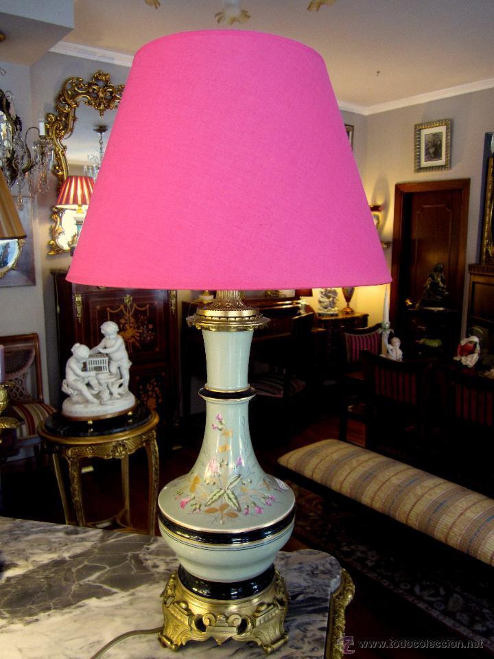 Antigüedades: lampara victoriana - Foto 2 - 53821317