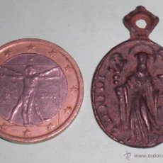 Antigüedades: MEDALLA EXHORCISMO SAN BENITO SIGLO XVI. Lote 177582602