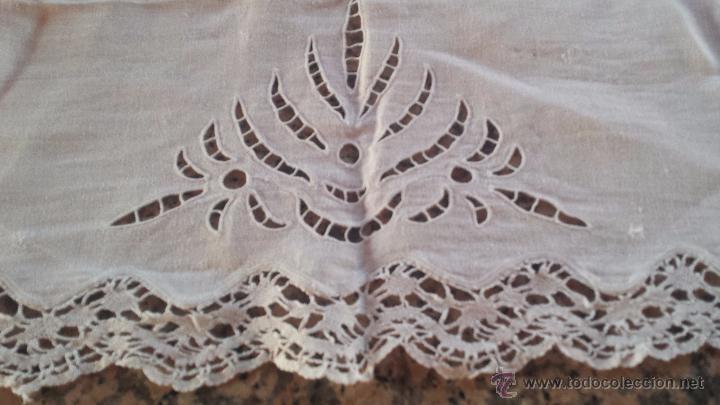 Antigüedades: antiguo tapete, bordado, precioso - Foto 2 - 53829660