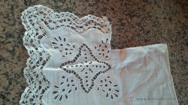 Antigüedades: antiguo tapete, bordado, precioso - Foto 3 - 53829660