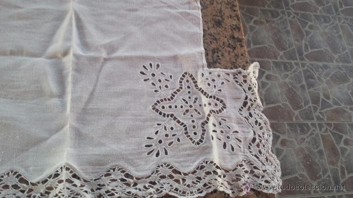 Antigüedades: antiguo tapete, bordado, precioso - Foto 4 - 53829660