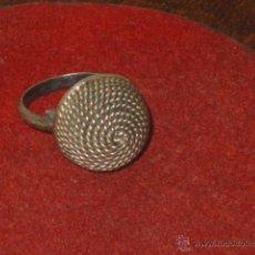 Antigüedades: ANTIGUO ANILLO DE PLATA.. Lote 53842889