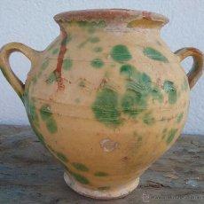 Antigüedades: ORZA / GERRA S. XIX-XX, ALFARERÍA CATALANA.. Lote 53843463