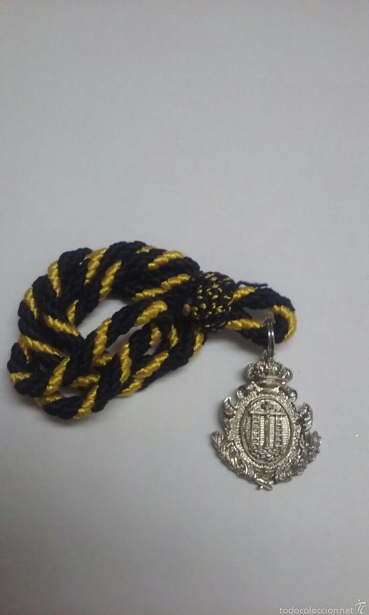SEMANA SANTA SEVILLA. ALCALA DEL RIO MEDALLA HDAD DE LA SOLEDAD PARA NIÑO (Antigüedades - Religiosas - Medallas Antiguas)