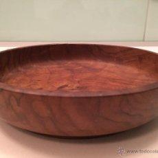 Antigüedades: ANTIGUO CUENCO EN MADERA DE OLIVO. Lote 53866554