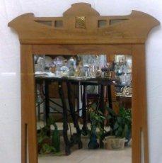 Antigüedades: ANTIGUO MARCO CON ESPEJO ART-DECO.. Lote 28314070