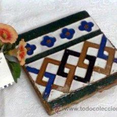 Antigüedades: ANTIGUO AZULEJO DE COLECCIÓN.. Lote 33835923