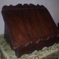 Antigüedades: ATRIL DE MESA. Lote 53892523