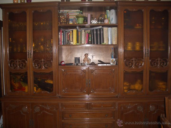 Mueble sal n comedor estilo luis xvi comprar vitrinas for Modernizar salon muebles clasicos