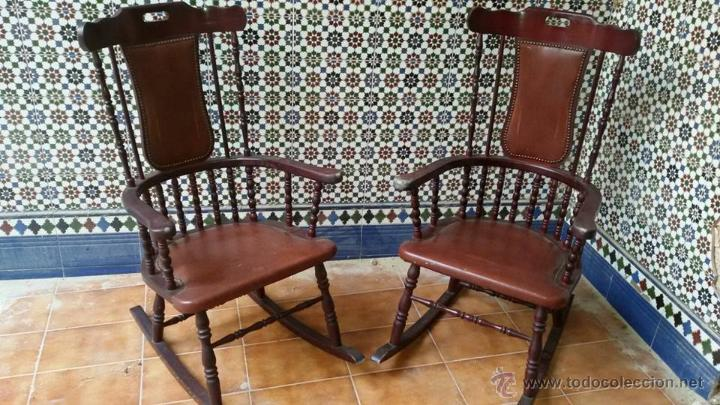 mecedoras antiguas antigedades muebles antiguos sillas antiguas