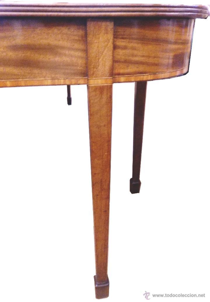 Antigua mesa de comedor de caoba comprar mesas antiguas - Mesas antiguas de comedor ...