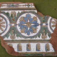 Antigüedades: AZULEJO ANTIGUO DE TOLEDO - ARISTA - RENACIMIENTO - SIGLO XVII.. Lote 53912162
