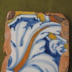 Antigüedades: AZULEJO ANTIGUO DE TALAVERA DE LA REINA / TOLEDO. SIGLO XVII.. Lote 53926392