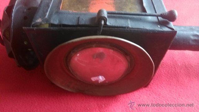 Antigüedades: ANTIGUO FAROL DE CARRO - Foto 3 - 53954817