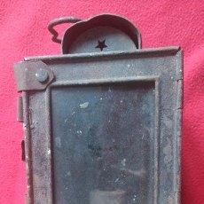 Antigüedades: ANTIGUO FAROL DE CARRO. Lote 53954901