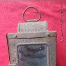 Antigüedades: ANTIGUO FAROL DE CARRO. Lote 53955062
