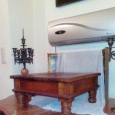 Antigüedades: PEANA, PEDESTAL, MADERA TALLADA.. Lote 53963589