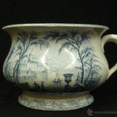Antigüedades: ORINAL LOZA INGLESA , WEDGWOOD & CO. 1856. Lote 53971389