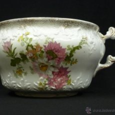 Antigüedades: ORINAL LOZA INGLESA, HENRY ALCOCK CO. 1861-1910. Lote 53971470