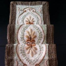 Antigüedades: ANTIGUO TAPETE CON PASAMANERIA. Lote 53987428