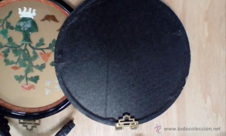 Antigüedades: Pareja de placas chinas muy decorativas - Foto 4 - 53991437