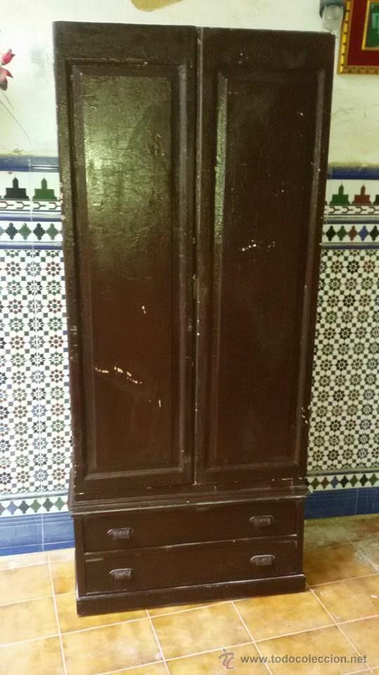 ARMARIO ANTIGUO (Antigüedades - Muebles Antiguos - Armarios Antiguos)