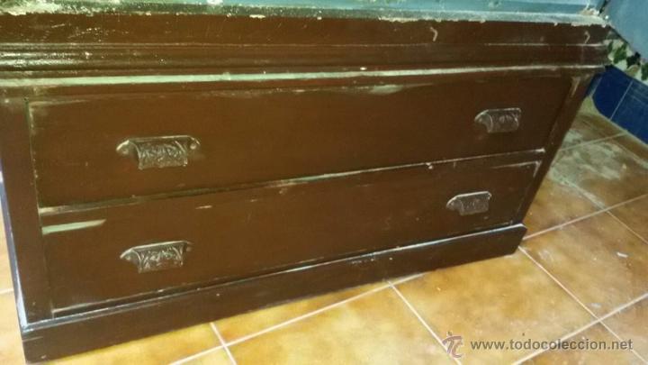 Antigüedades: armario antiguo - Foto 2 - 54004241