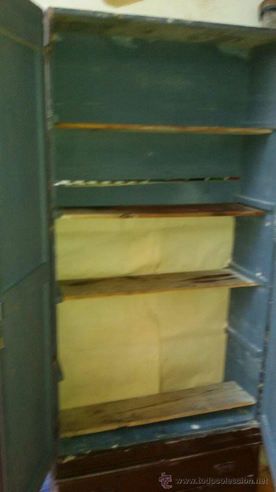 Antigüedades: armario antiguo - Foto 3 - 54004241