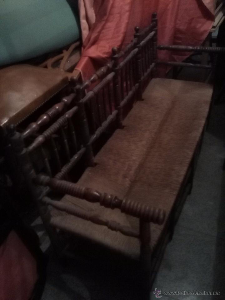 TRESILLO ENEA. (Antigüedades - Muebles Antiguos - Sofás Antiguos)