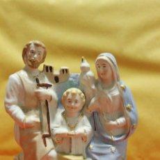 Antigüedades: ANTIGUA PORCELANA, SAGRADA FAMILIA,. Lote 54017350