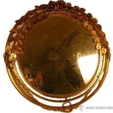 Antigüedades: ESPEJO SOL DE HIERRO. Lote 54022504