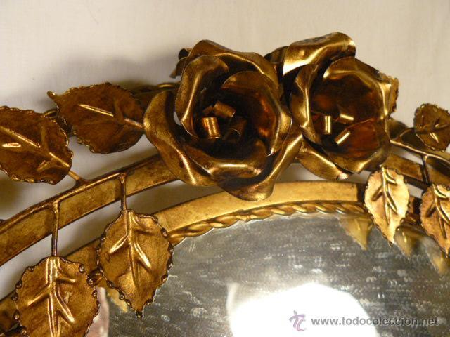 Antigüedades: ESPEJO SOL DE HIERRO - Foto 6 - 54022504