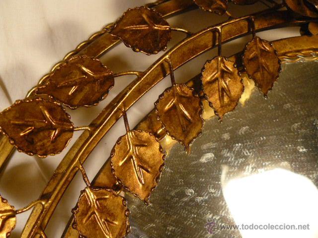 Antigüedades: ESPEJO SOL DE HIERRO - Foto 7 - 54022504
