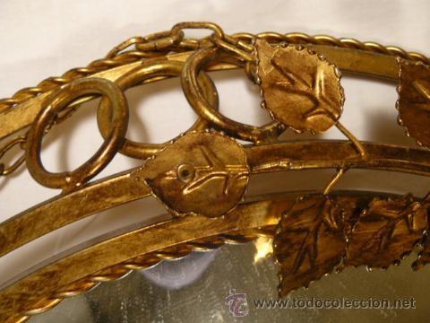 Antigüedades: ESPEJO SOL DE HIERRO - Foto 8 - 54022504