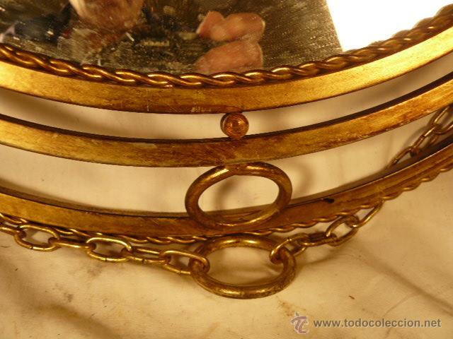 Antigüedades: ESPEJO SOL DE HIERRO - Foto 9 - 54022504