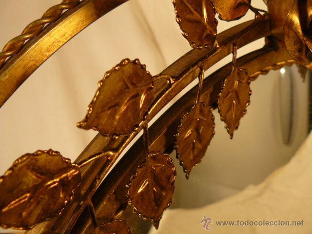 Antigüedades: ESPEJO SOL DE HIERRO - Foto 11 - 54022504