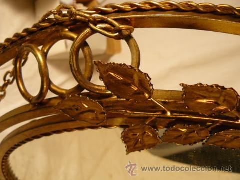 Antigüedades: ESPEJO SOL DE HIERRO - Foto 12 - 54022504