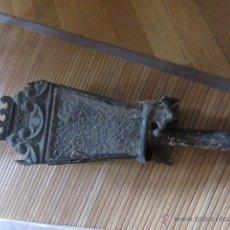 Antigüedades: FAROL ANTIGUO DE SEMANA SANTA DE VELA ACEITE. Lote 54024362