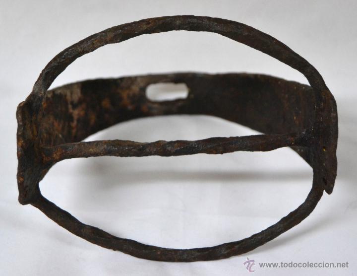 Antigüedades: Antiguo Estribo Español en Hierro Forjado * Forja * Alta epoca * Ideal coleccionistas * - Foto 5 - 54035714