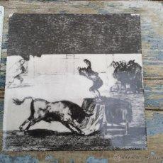 Antiquitäten - Azulejo con grabado taurino. - 54036370