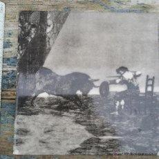 Antiquitäten - Azulejo con grabado taurino. - 54036709