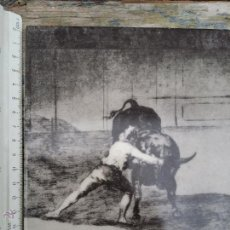 Antiquitäten - Azulejo con grabado taurino. - 54037312