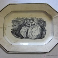 Antigüedades: BANDEJA DE CARTAGENA. Lote 54039982