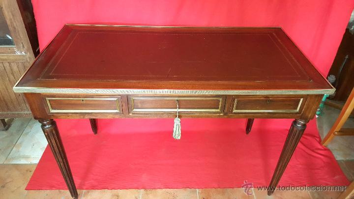 Mesa de despacho o escritorio realizado en made comprar - Mesas de escritorio antiguas ...